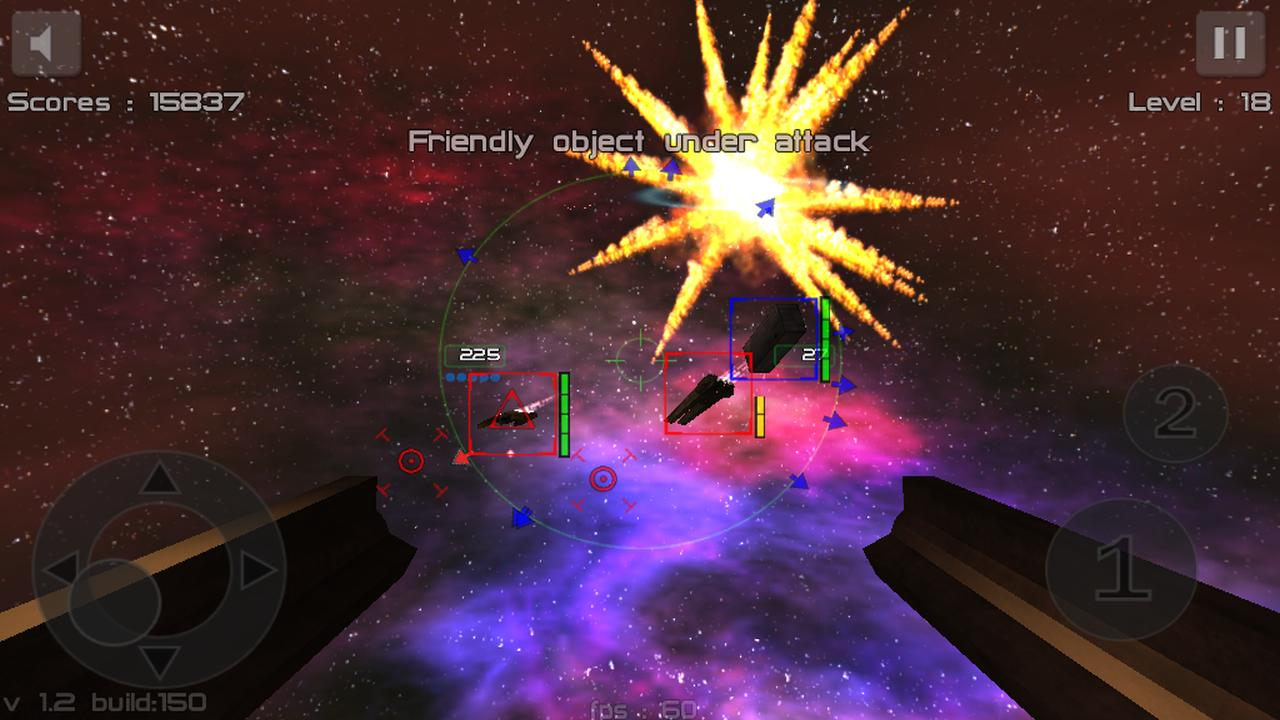 Gunner : Free Space Defender - screenshot