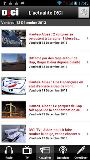 D CI Radio - Hautes-Alpes
