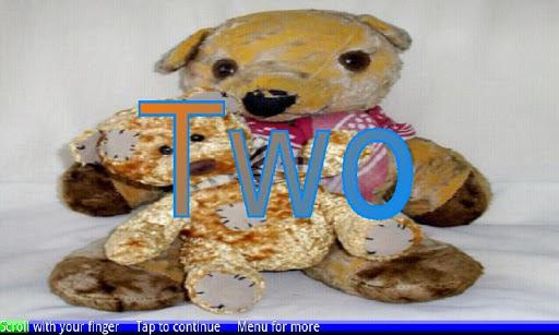 計數泰迪熊1-20! 2免費