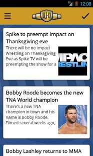 Wrestling-Online.com News Free - screenshot thumbnail