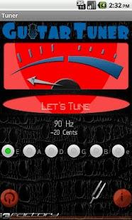 Guitar Tuner i3f- screenshot thumbnail