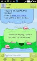 Screenshot of Cartoon GO SMS