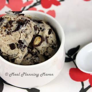 Cocoa-Almond Crunch Ice Cream.