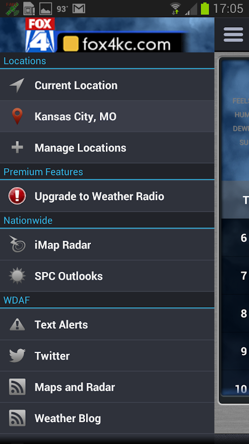 FOX 4 Kansas City Weather - screenshot