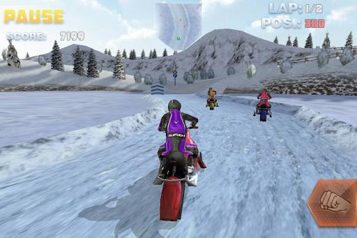 Snow Bike Racing
