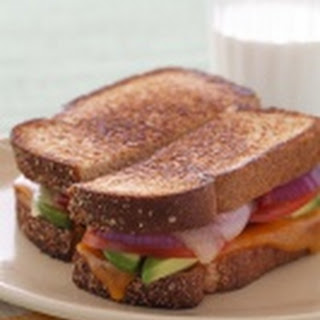AXELL FAMILY CALIFORNIA AVOCADO GRILLED CHEESE SANDWICH