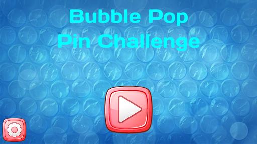 Bubble Pop Pin Challenge