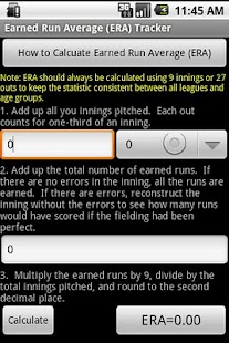 My Baseball Stats Calculator- screenshot thumbnail