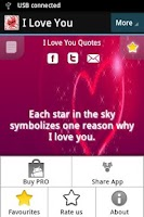 Screenshot of I Love You Quotes