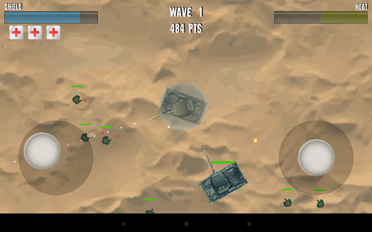Tank War - screenshot