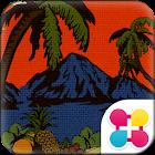 ハワイ壁紙 pukana la icon