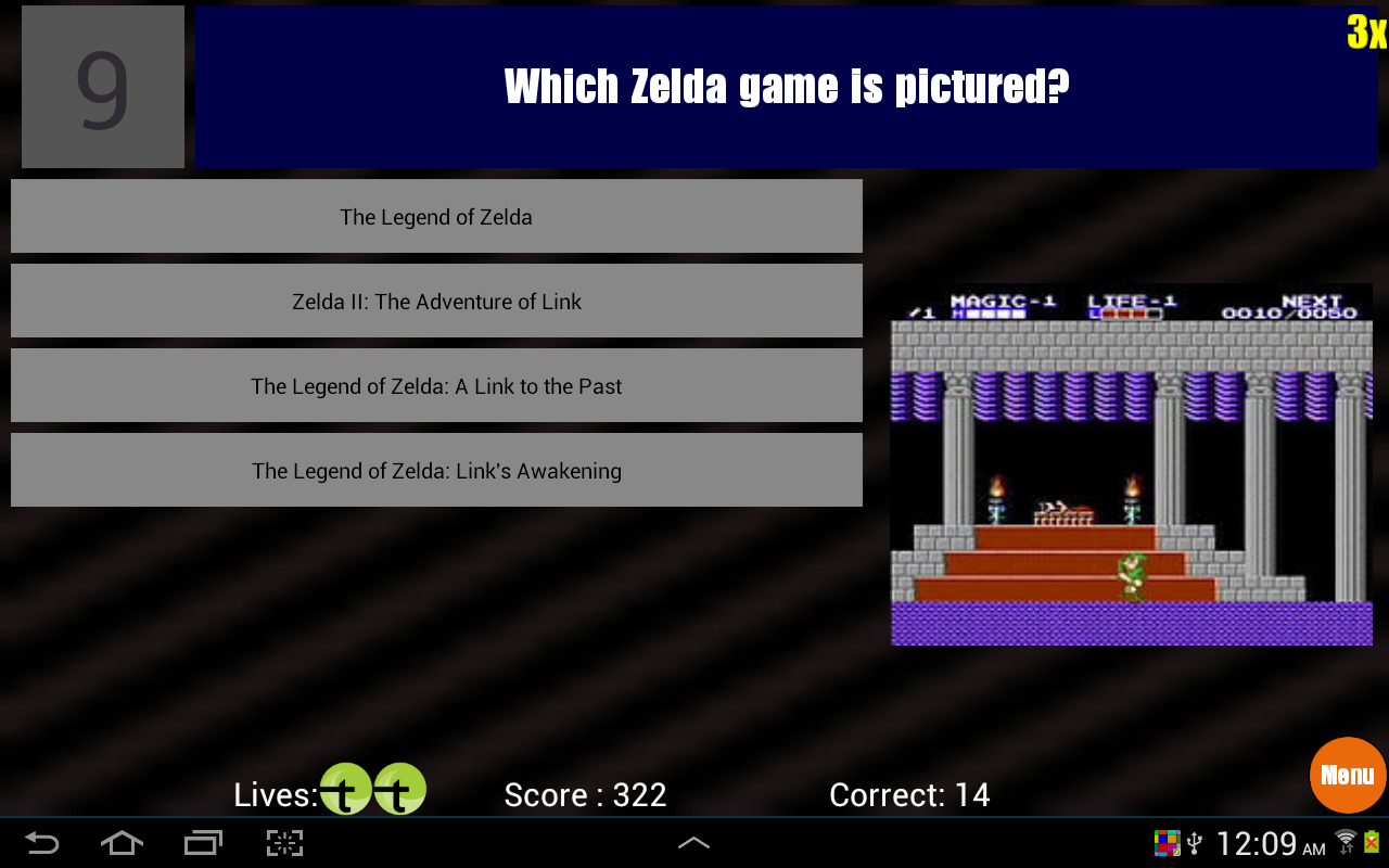 Video Game Trivia- screenshot