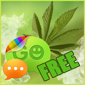 Weed Ganja Theme for GO SMS