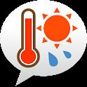 熱中症アラート: お天気ナビゲータ logo