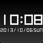 Boxy clock widget -Me Clock