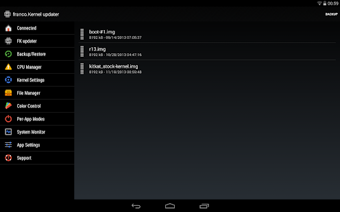 franco.Kernel updater - screenshot thumbnail