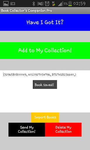 Book Collector's Companion Pro