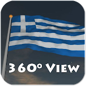 Real Greece Flag Live Wall +