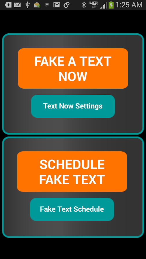 Fake-A-Text Free- screenshot