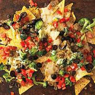 Loaded Veggie Nachos.