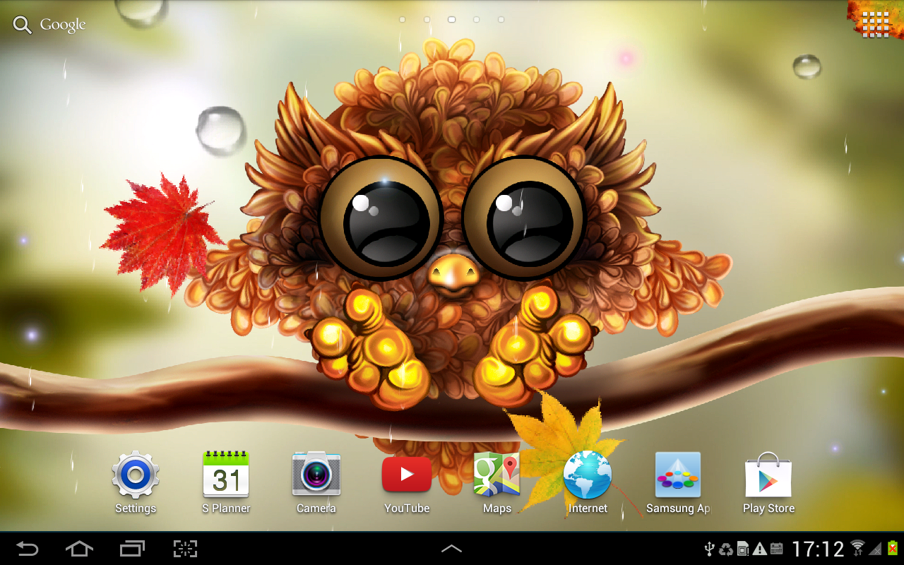 Autumn little owl wallpaper android apps on google play autumn little owl wallpaper screenshot voltagebd Image collections