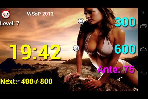 Talking Poker Timer - Clock - screenshot