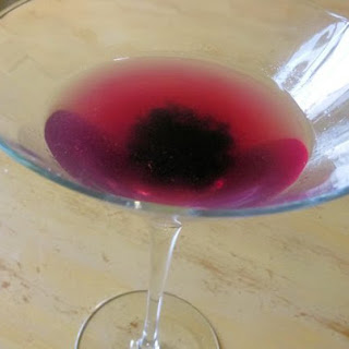 Wild Blueberry Martini.