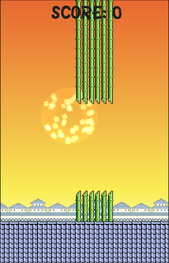 Flappy Ninja KAGE- screenshot