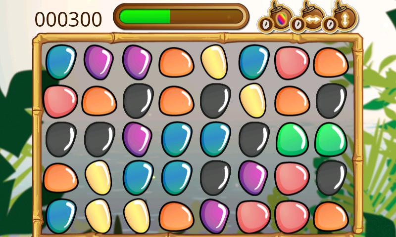 TikiJeweled - screenshot