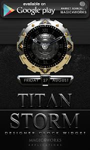 Poweramp skin Titan Storm v2.03