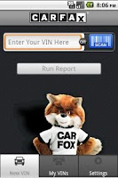Screenshot of CARFAX for Dealers
