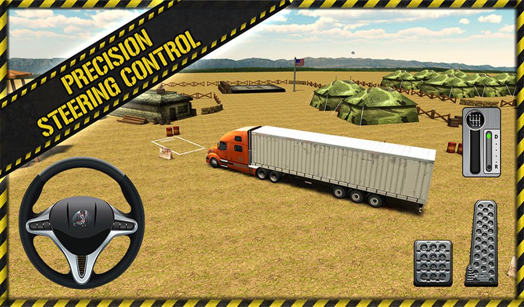 Trucker Parking 3D- screenshot