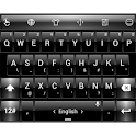 Keyboard Theme Dusk BlackWhite