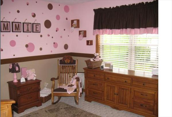 Pink And Brown Baby Room Ideas Screenshot