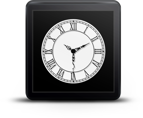 Cairo Clock for Android Wear- screenshot