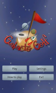 Galacto Golf- screenshot thumbnail