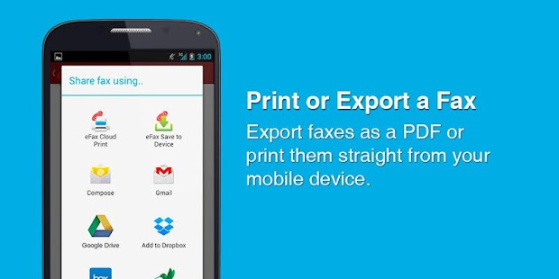 eFax - Mobile Phone Fax App|玩商業App免費|玩APPs