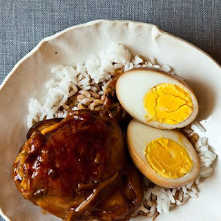 Soy Saucy Chicken and Eggs.