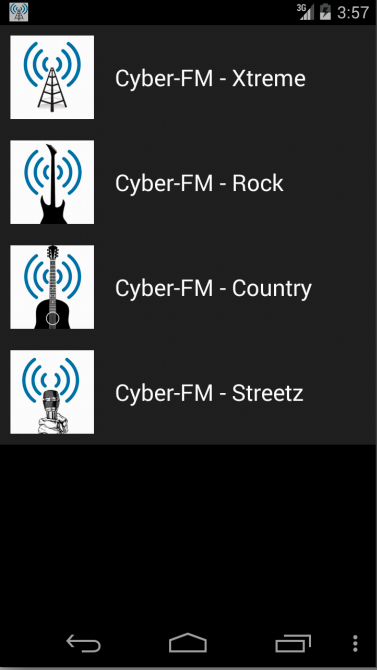 Cyber-FM- screenshot