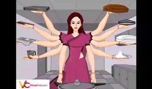 Durga Puja Animated