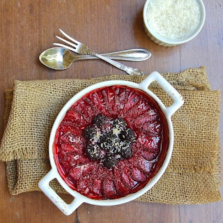 Roasted Berries with Lime and Toasted Coconut Recipe