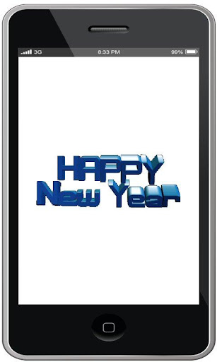 Animated Happy New Year 3D