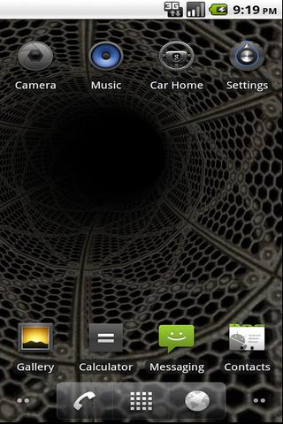 Epic 3D Tunnel  Live Wallpaper- screenshot