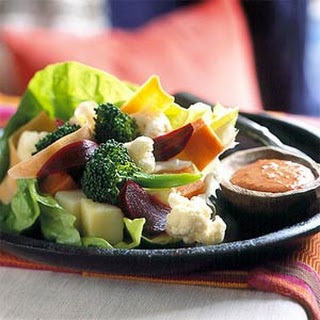 Crunchy Vegetable Salad.