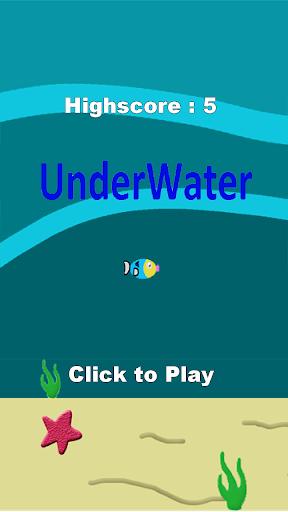 【免費街機App】UnderWater-APP點子