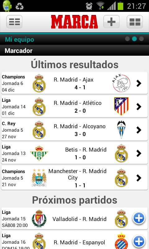 MARCA.com - screenshot