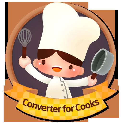 Converter for cooks LOGO-APP點子