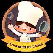 Converter for cooks