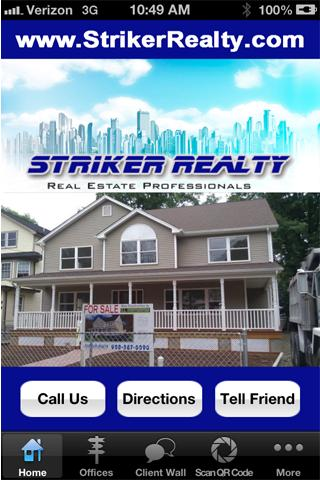 Striker Realty - screenshot