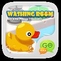GOSMS WashingRoom Pop ThemeEX icon